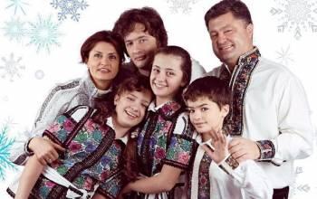 Можно с уверенностью сказать, что лучшей поддержкой для Порошенко является его семья
